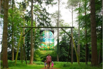 10 mins drive, 4 miles, GL16 7EL - Sculpture Trail